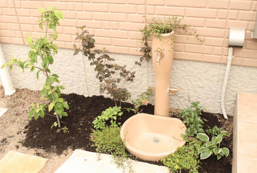 【外構】一戸建ての庭に水栓&立水栓は2箇所必要!?
