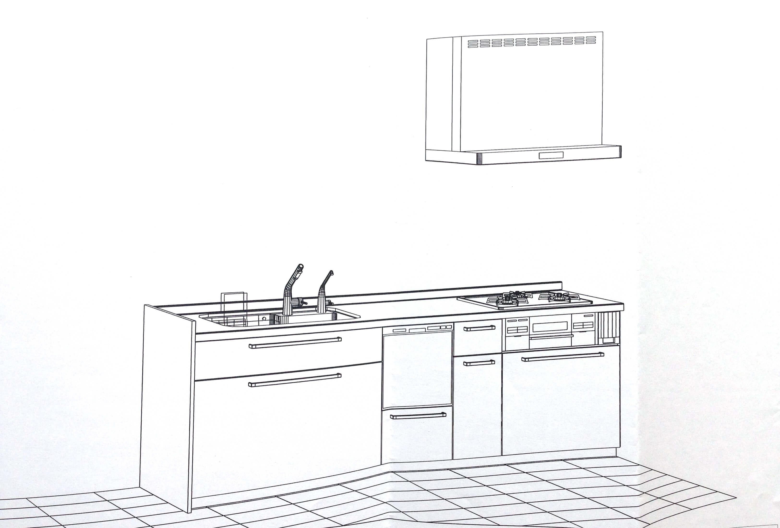 【水廻り】TOTOのキッチン、こんな感じにしました☆
