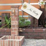 《DIY*庭》立水栓をレンガで改造計画中♪オシャレになるかもしれない。。。!!